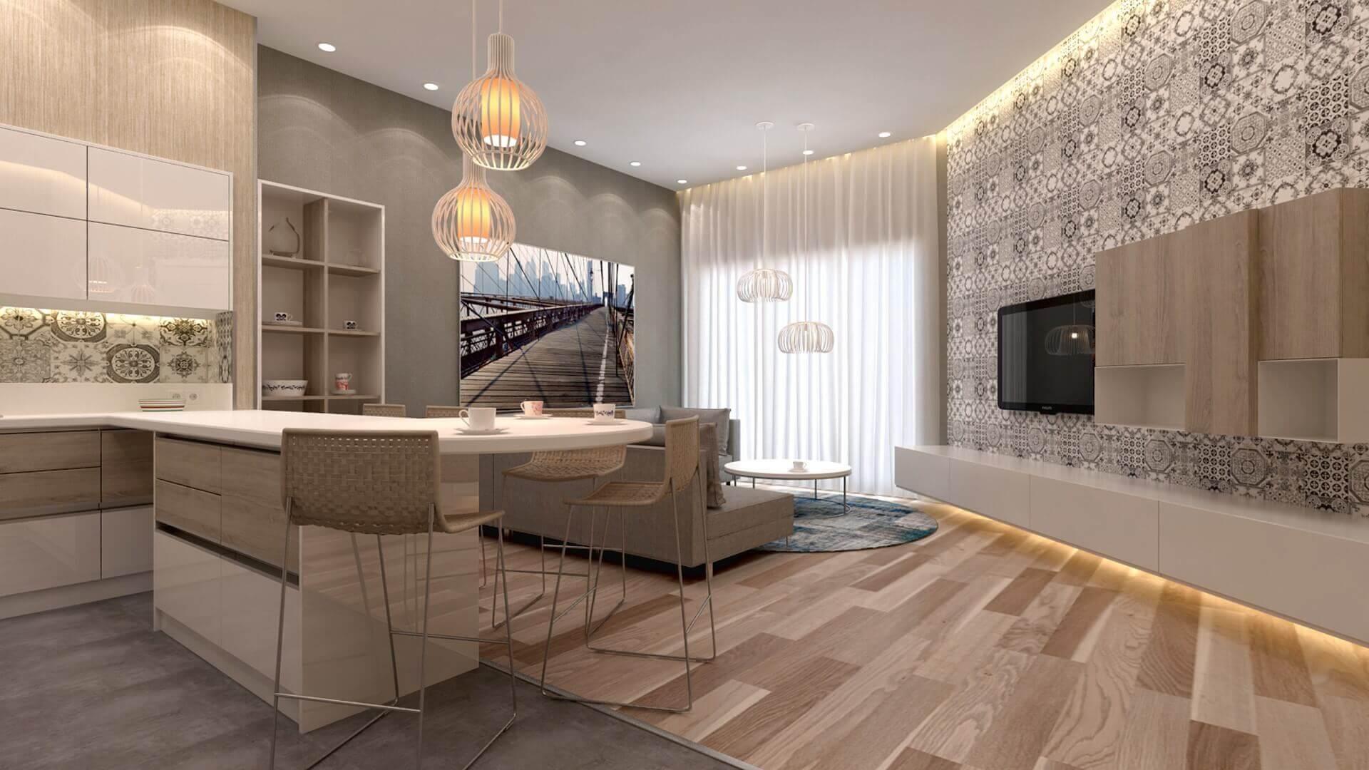 home inspiration 3189 D. Aslan Flat Residential