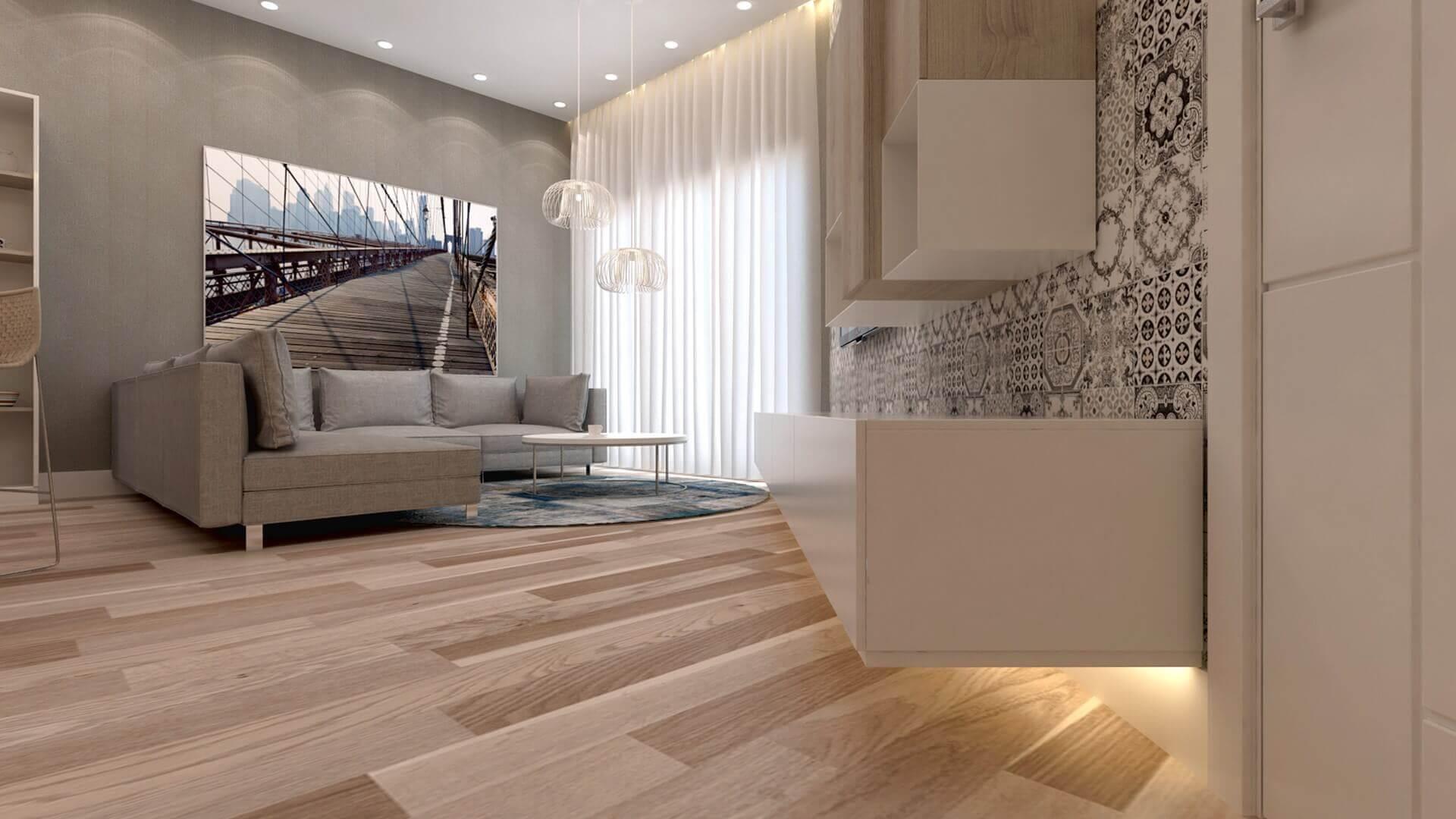 home inspiration 3198 D. Aslan Flat Residential