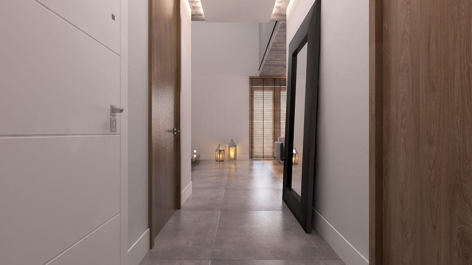 AJ Flat, Residential