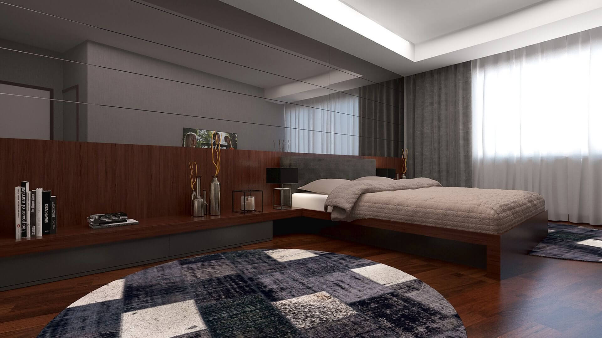 home inspiration 3267 H. Aslan Flat Residential