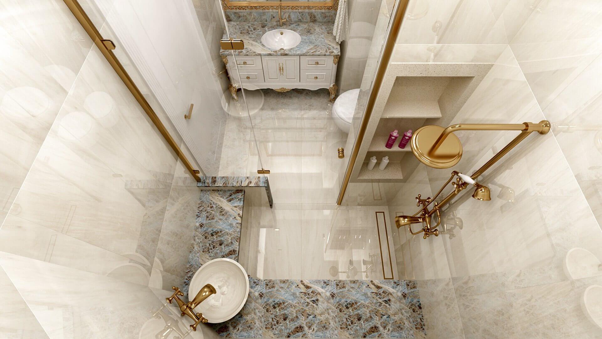 Ankara house decoration 3301 S. Aslan Flat Residential