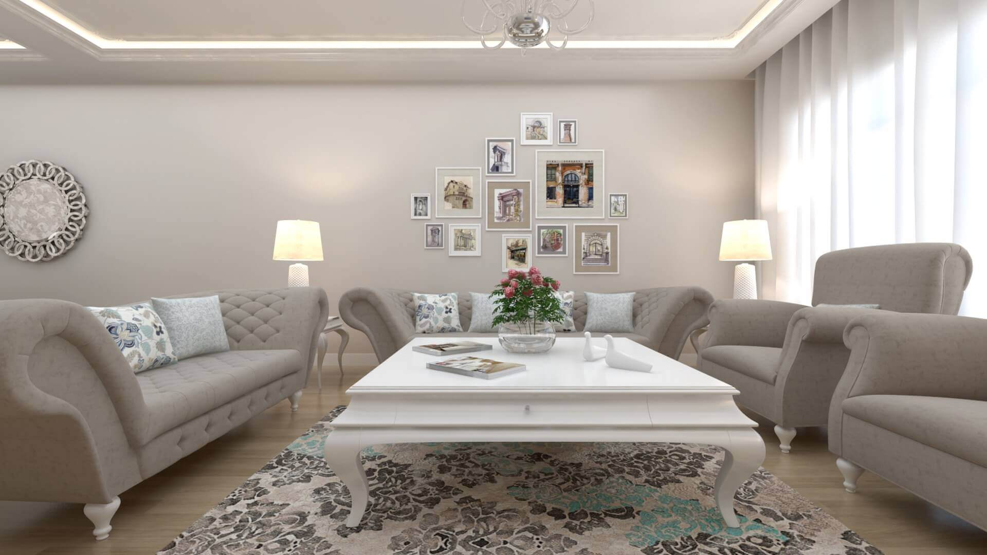 home inspiration 3315 D. Unal Flat Residential