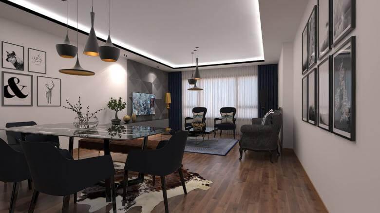 flat decoration 3338 A. Erbas Flat Residential