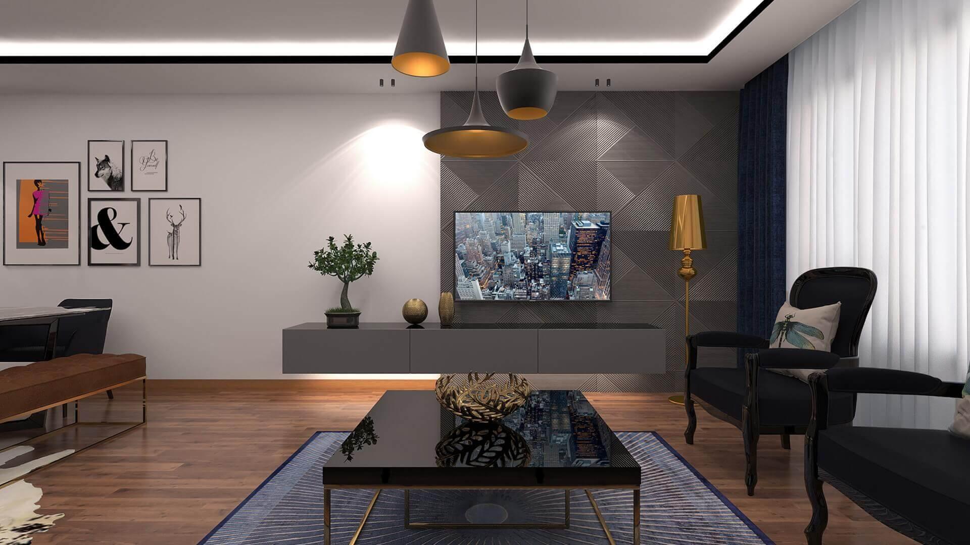 flat decoration 3340 A. Erbas Flat Residential