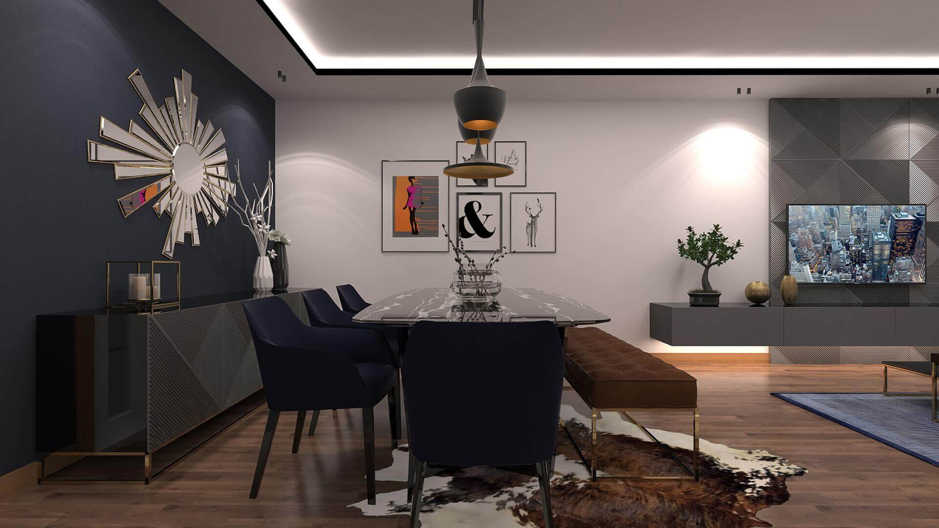 home inspiration 3342 A. Erbas Flat Residential