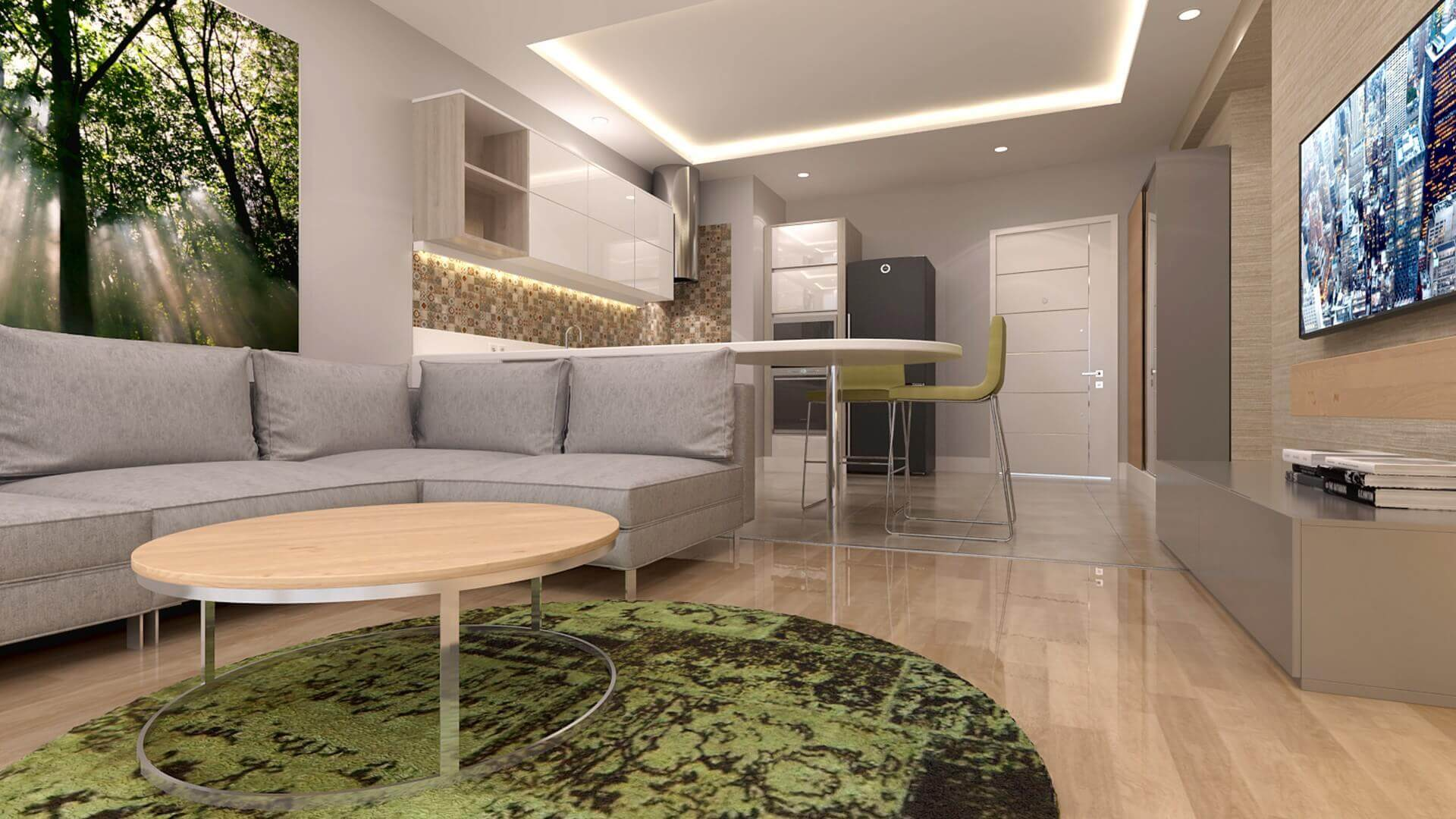 home inspiration 3354 F. Kulahci Flat Residential