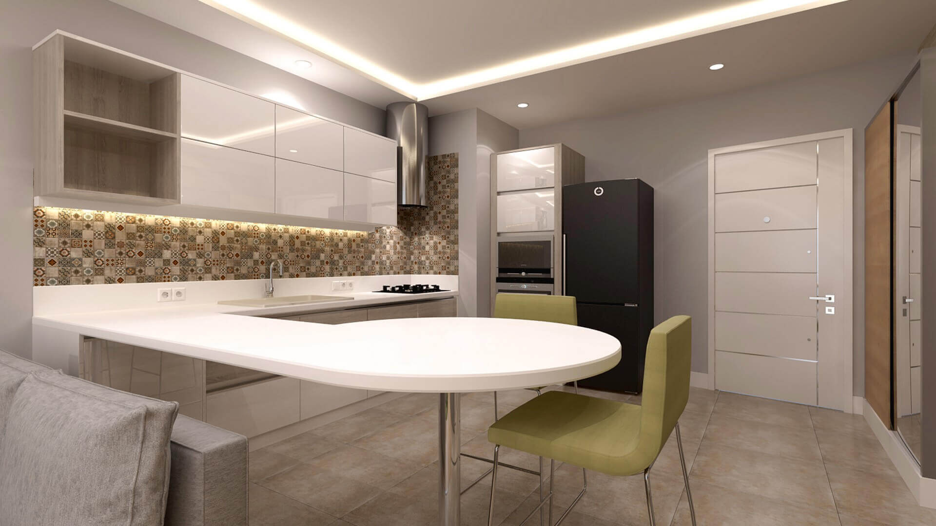 home inspiration 3357 F. Kulahci Flat Residential