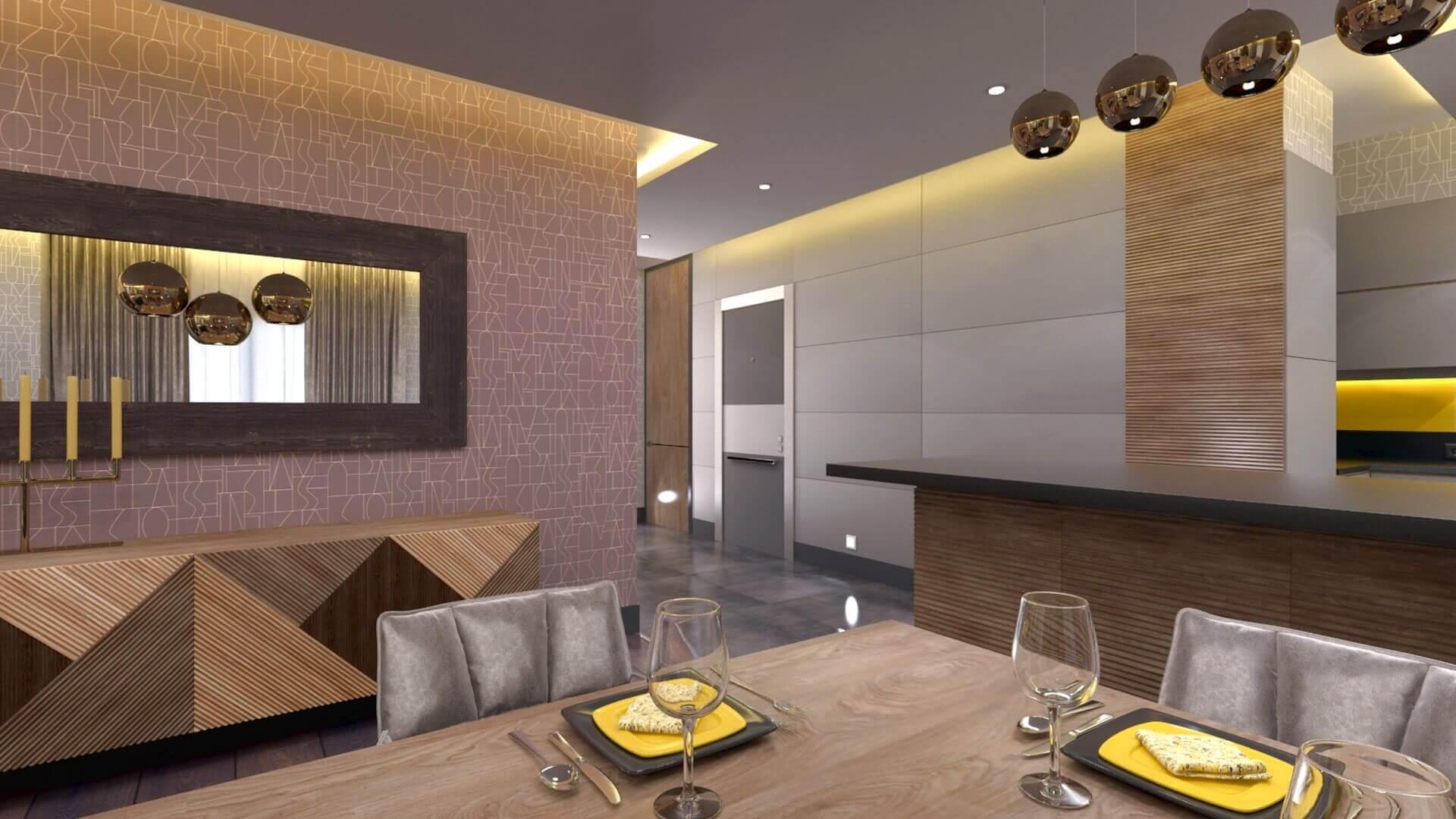 Villa interior design 3371 S. Dedeoglu Flat Residential