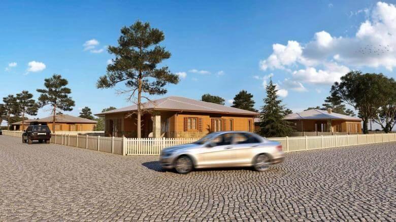 home inspiration 3392 Ecological Village Muratli Residential