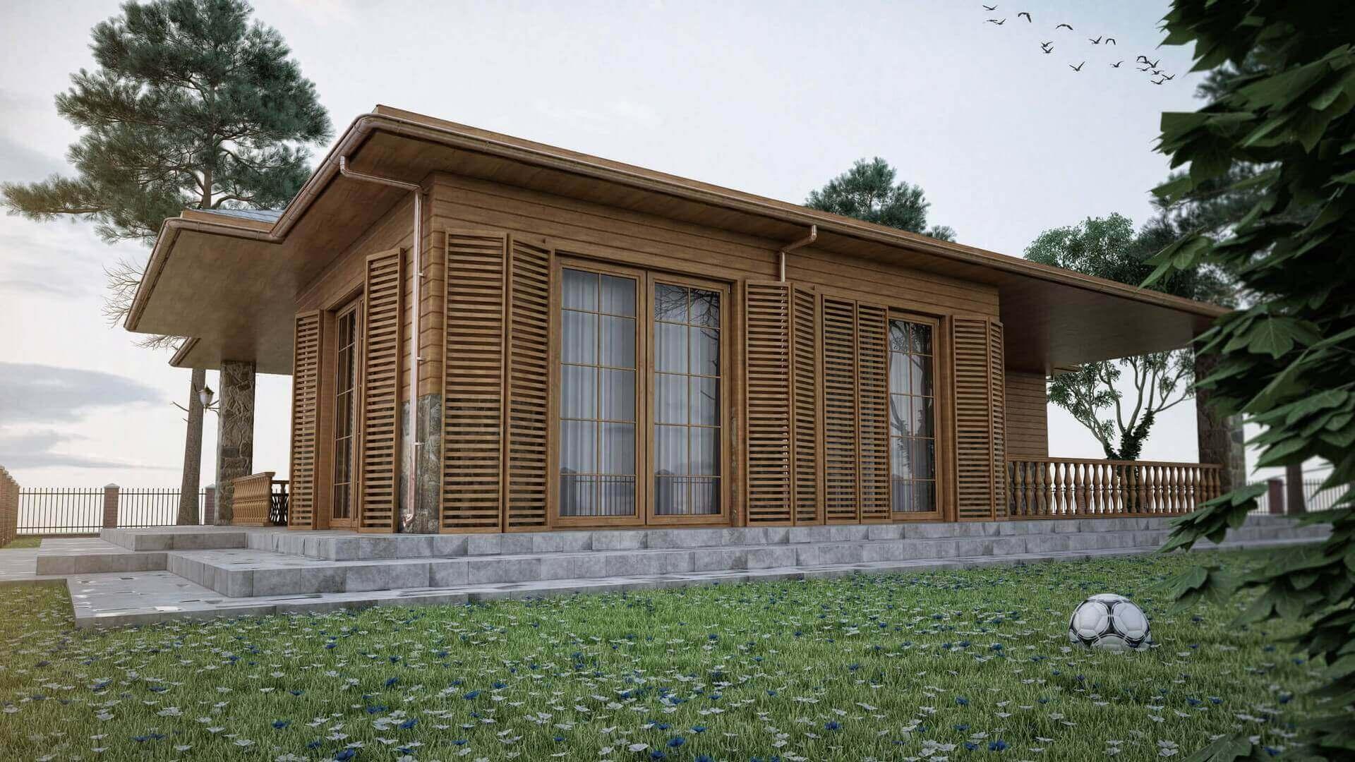 House interior design 3401 Ecological Village Muratli Residential