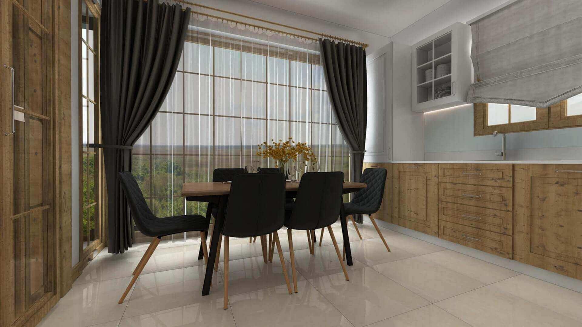 House interior design 3411 Ecological Village Muratli Residential
