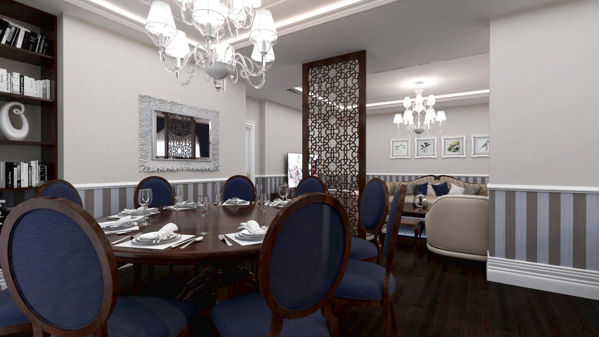 House interior designer 3431 Aslan House Residential