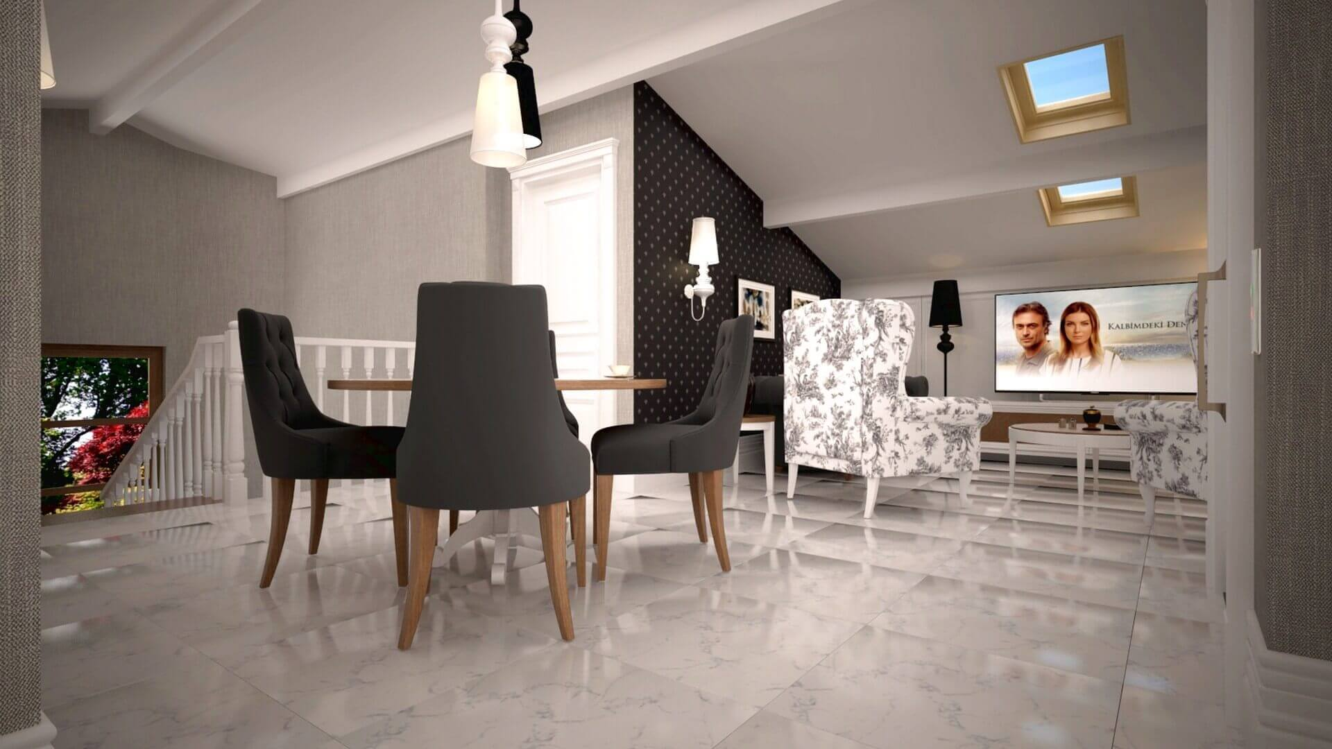 home decoration 3448 Aslan House Residential