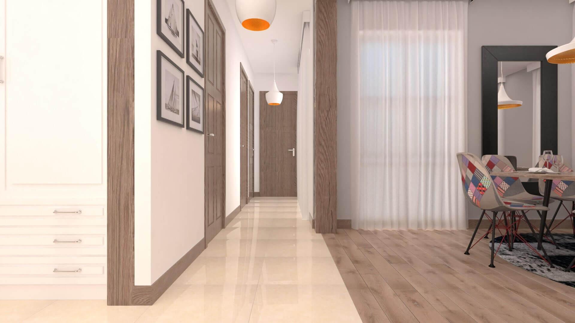 HMC Flat, Residential