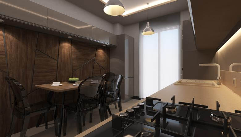 home inspiration 3493 A. Telli Flat Residential