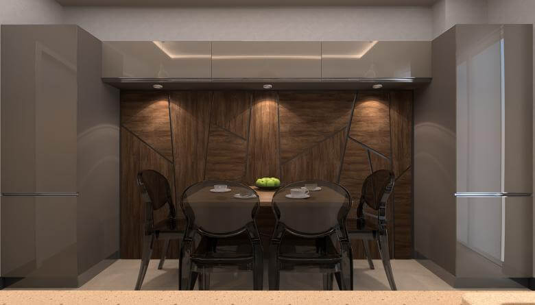 home inspiration 3495 A. Telli Flat Residential