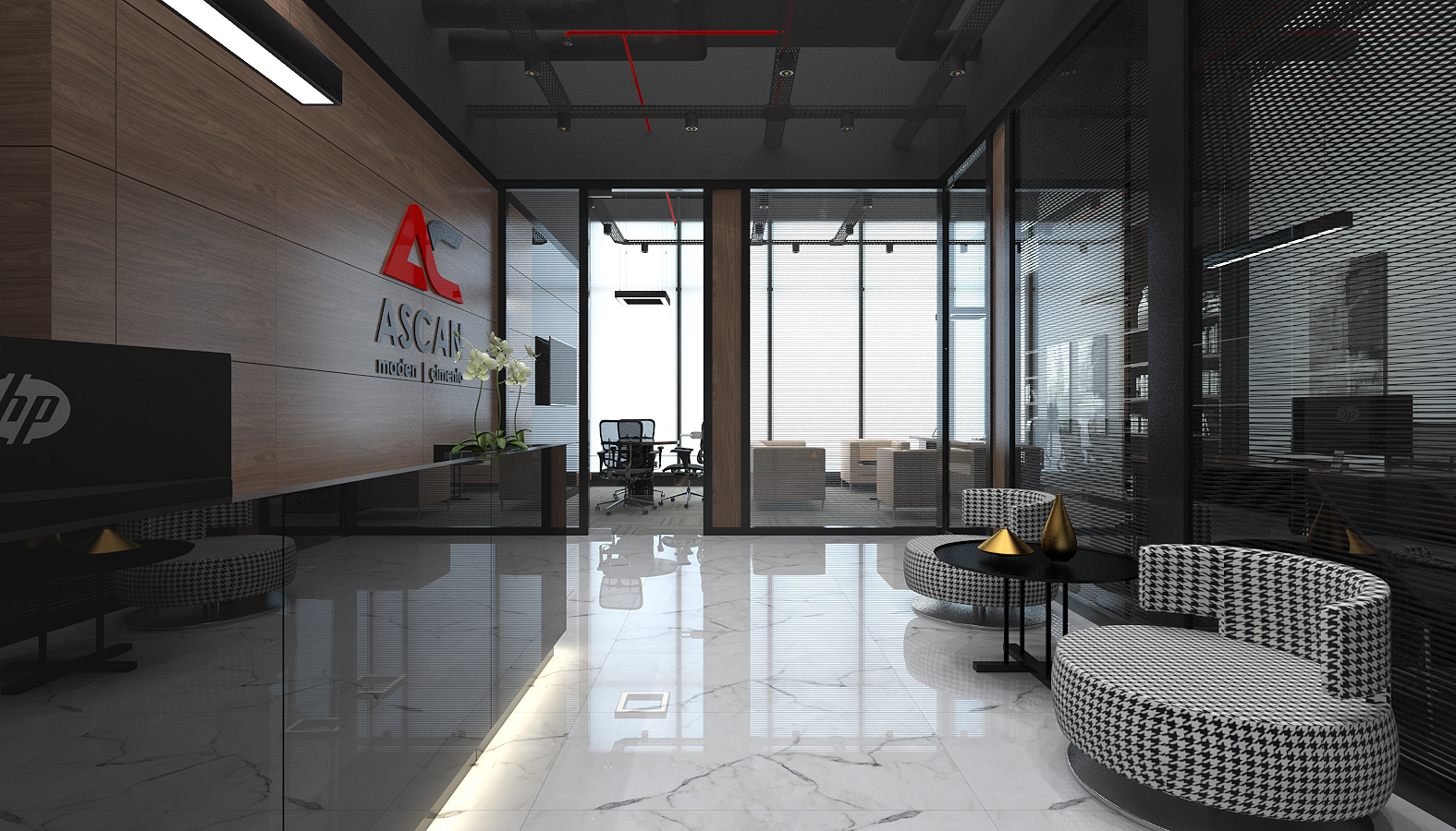 Ascan Mine and Cement, Offices
