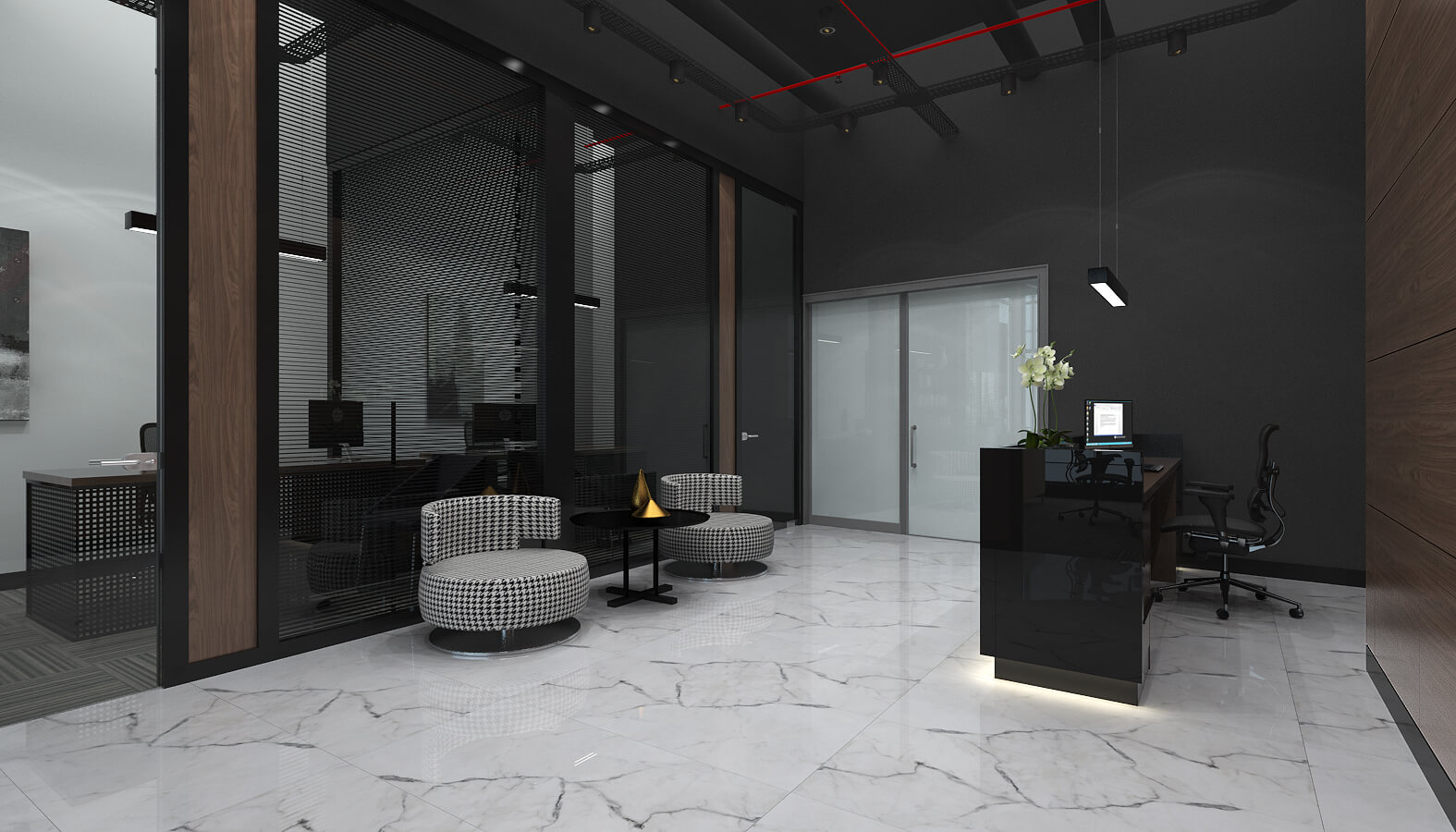 office design 3504 Ascan Mine and Cement Offices