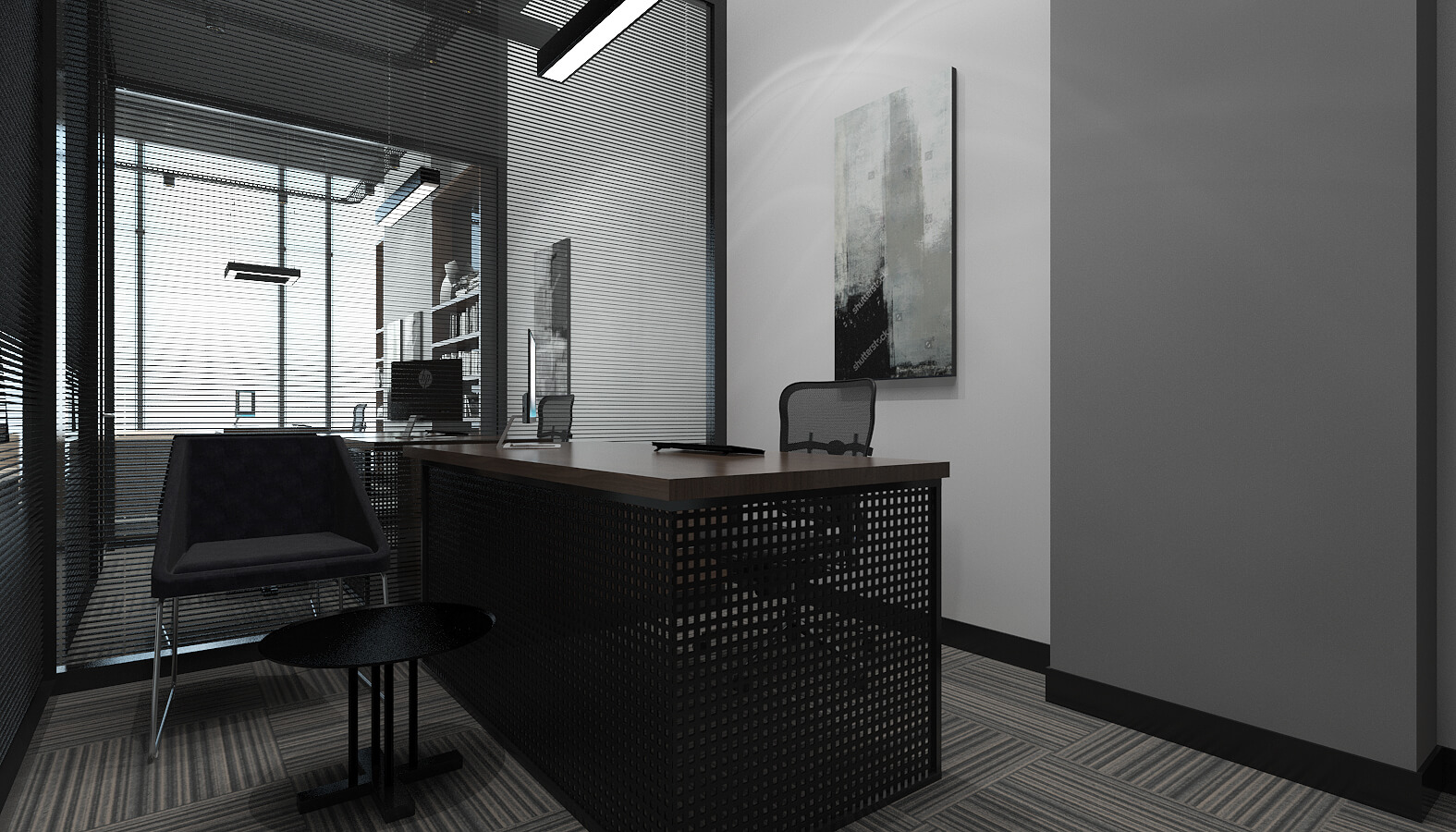 office design 3510 Ascan Mine and Cement Offices