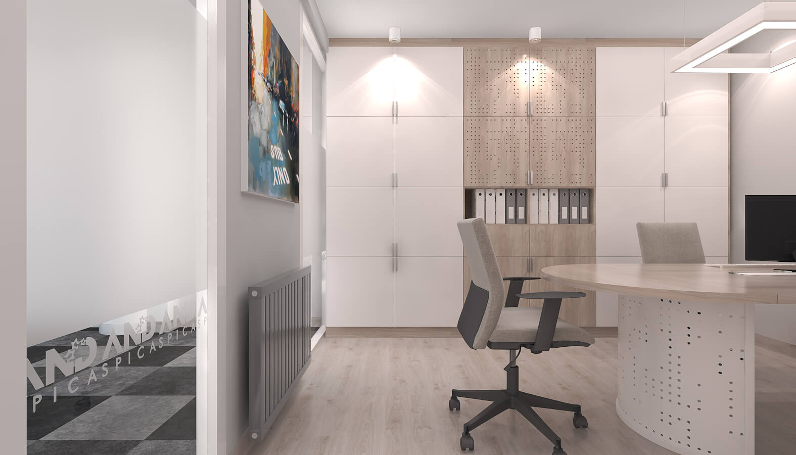 Ankara office design 3511 And SPICA Offices
