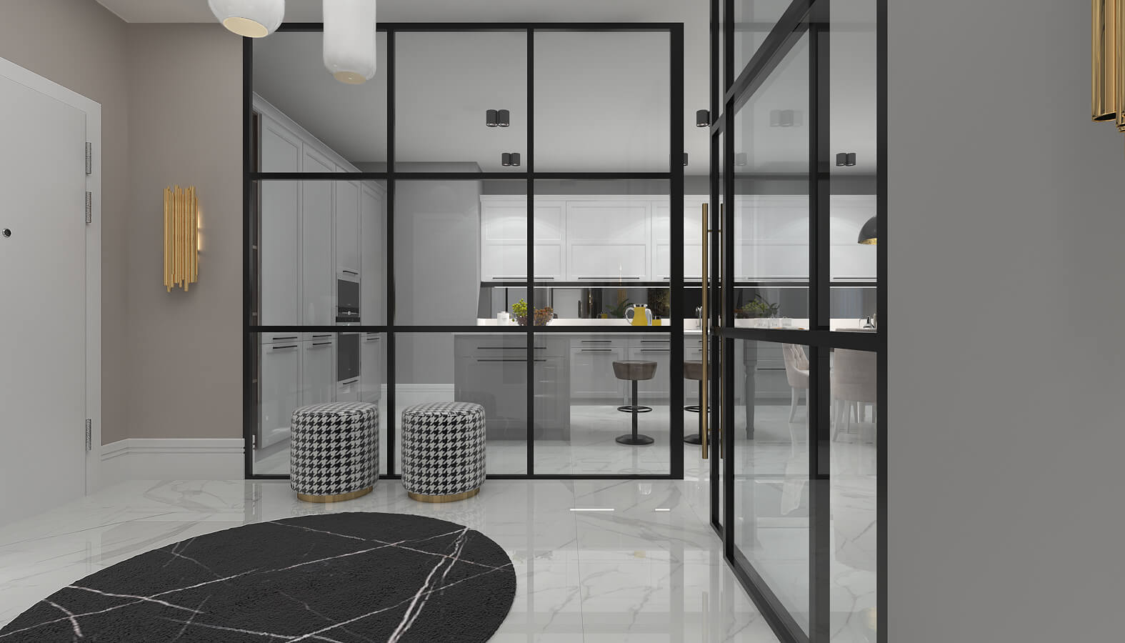 Home decoration 3541 BT Flat Residential