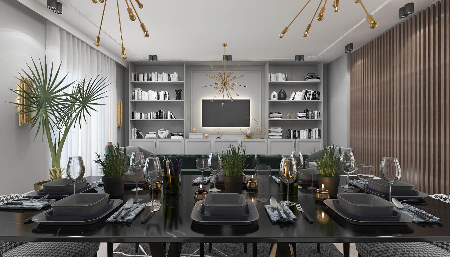 home inspiration 3555 BT Flat Residential