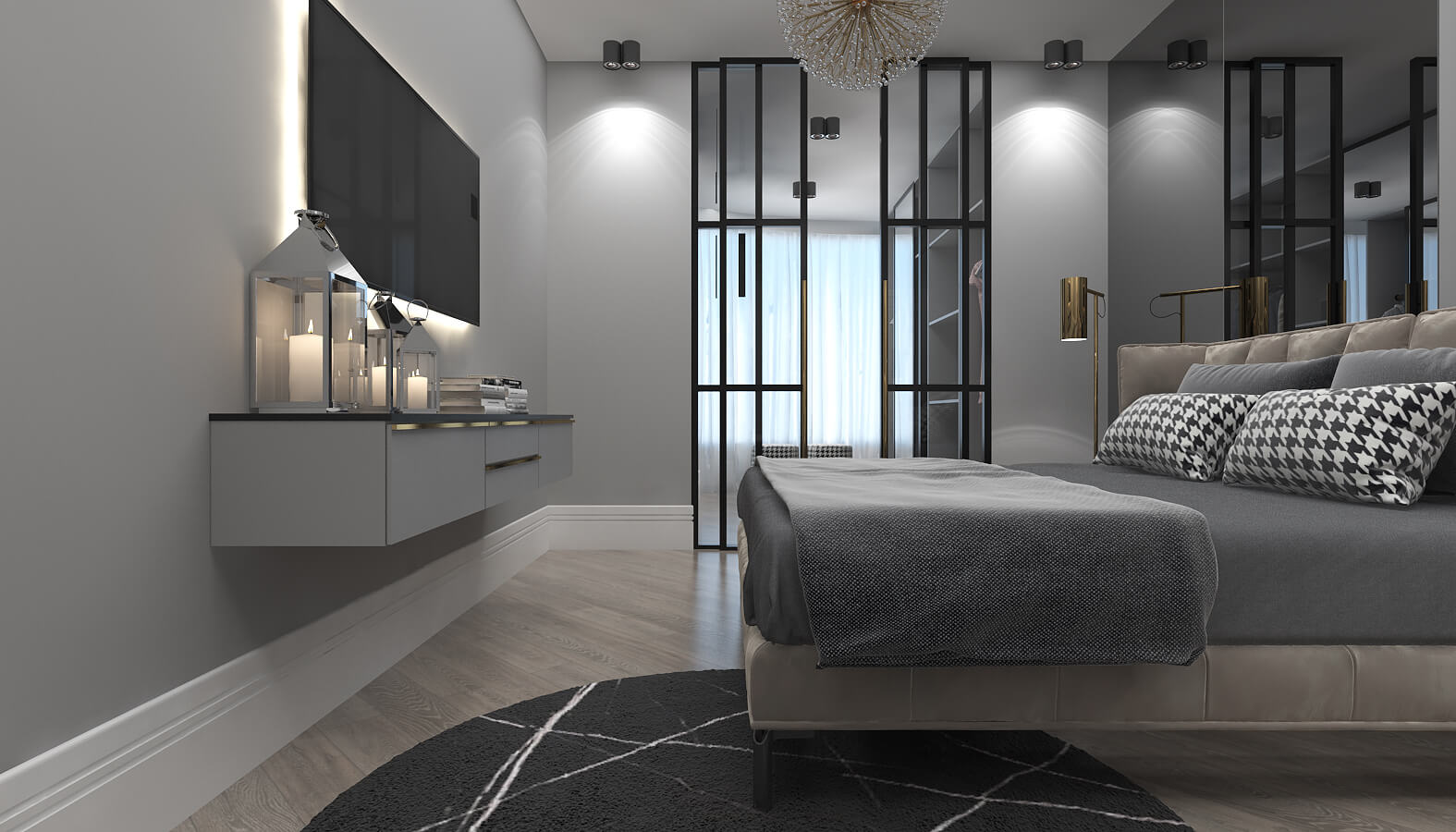 flat decoration 3565 BT Flat Residential
