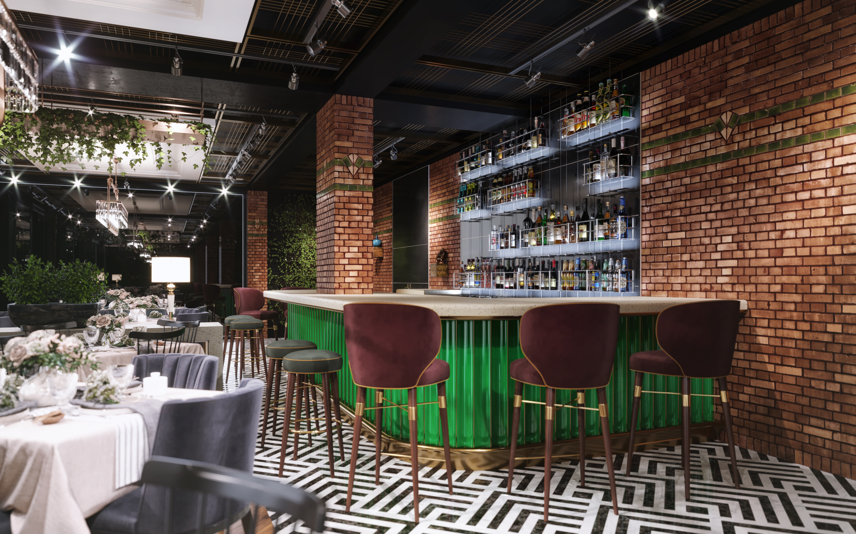 Restaurant interior design Dogruer Restaurant
