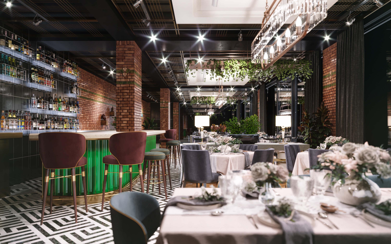 restaurant interior design 3570 Dogruer Restaurant Restaurants