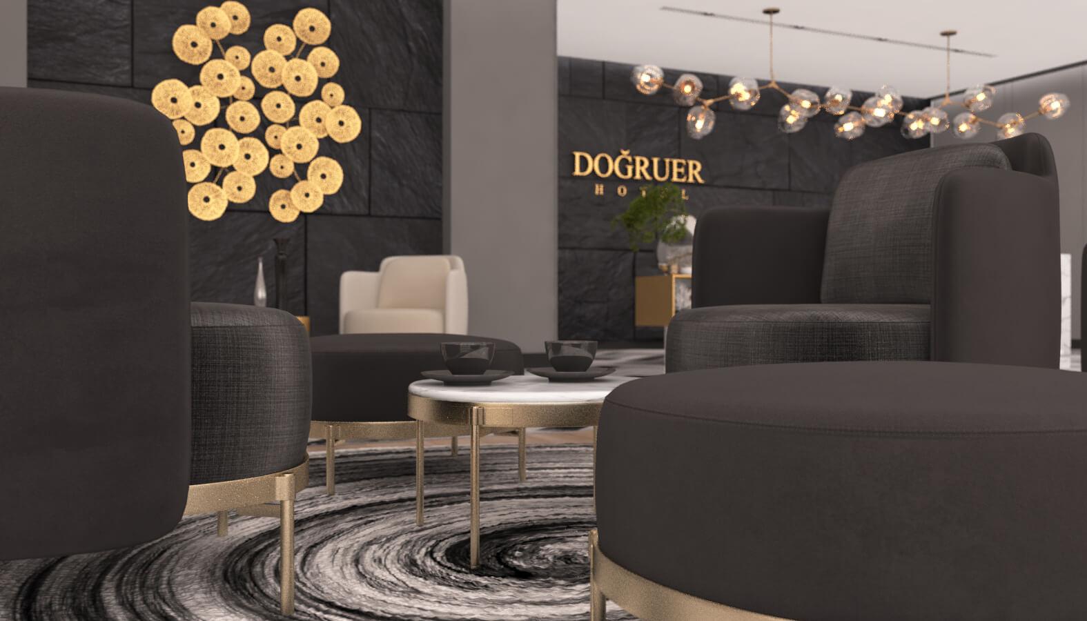 Hotel Architecture and Interior Design Dogruer hotel