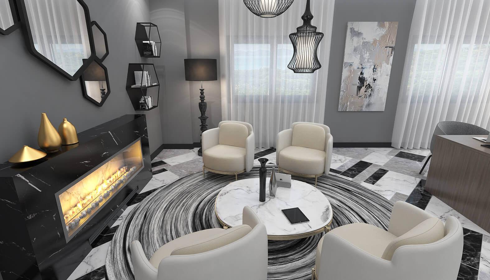 Lobby design 3594 Dogruer hotel Hotels