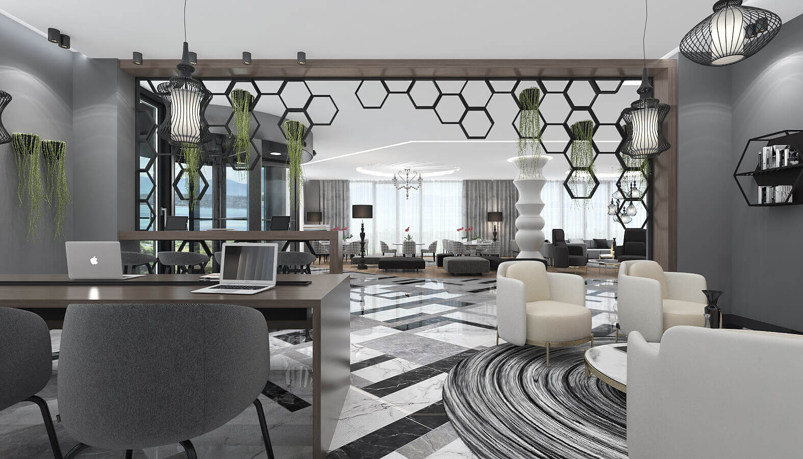Lobby design 3597 Dogruer hotel Hotels