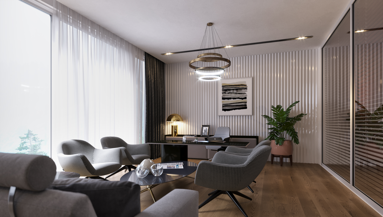 Office Interior Design Decoration Mc Hidrolik