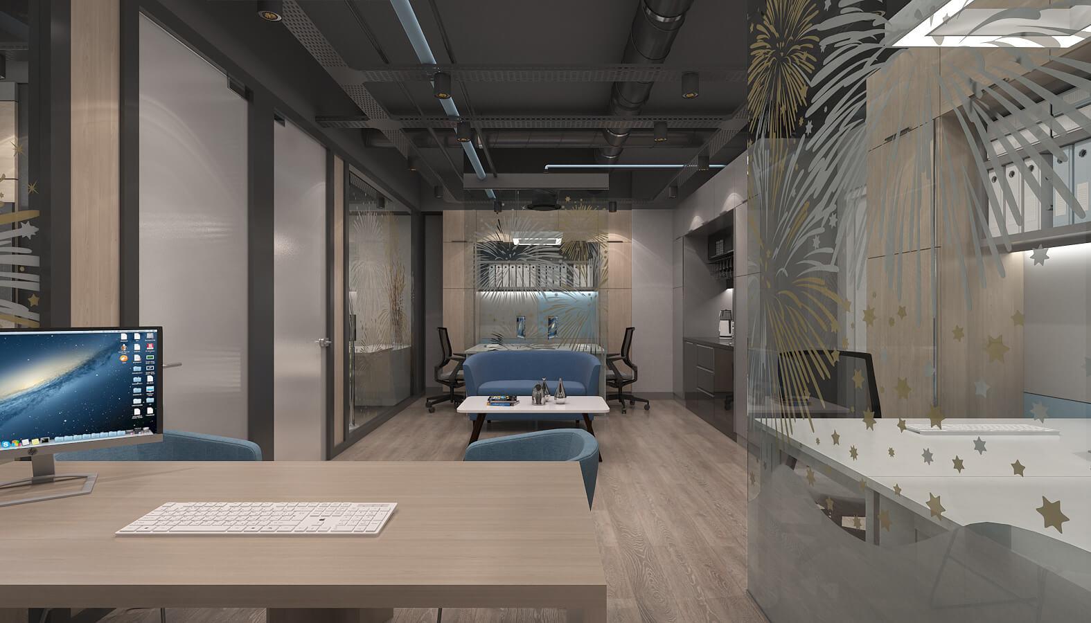 Ankara office design 3631 Arti Entegre Offices