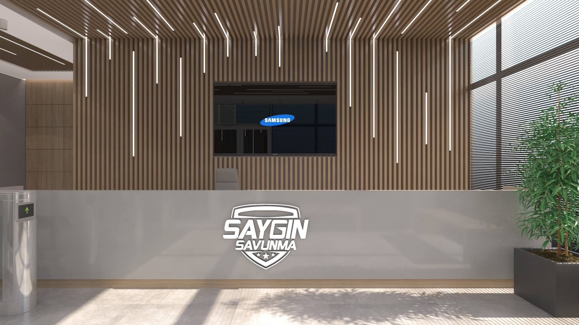 Office Interior Design Decoration Saygin Defence and Aviation