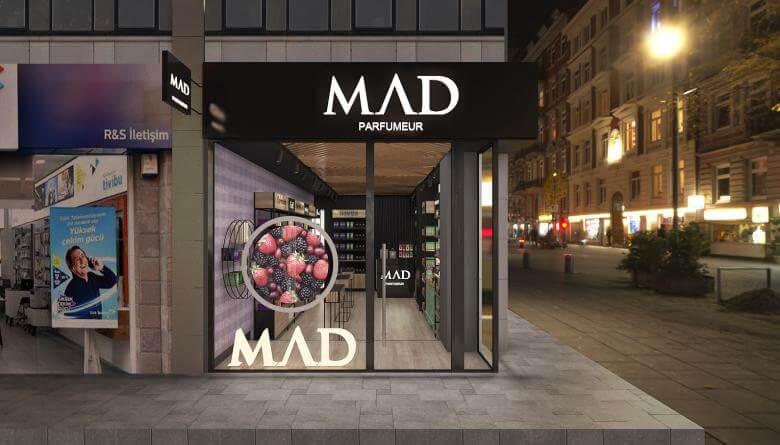 shop design 3680 Mad Parfumer Store Retail
