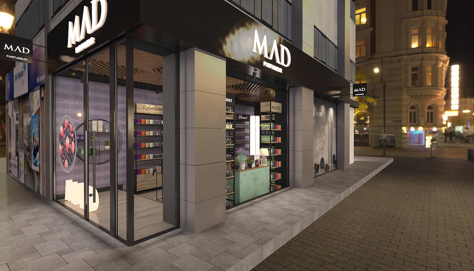 Shop design 3681 Mad Parfumer Store Retail