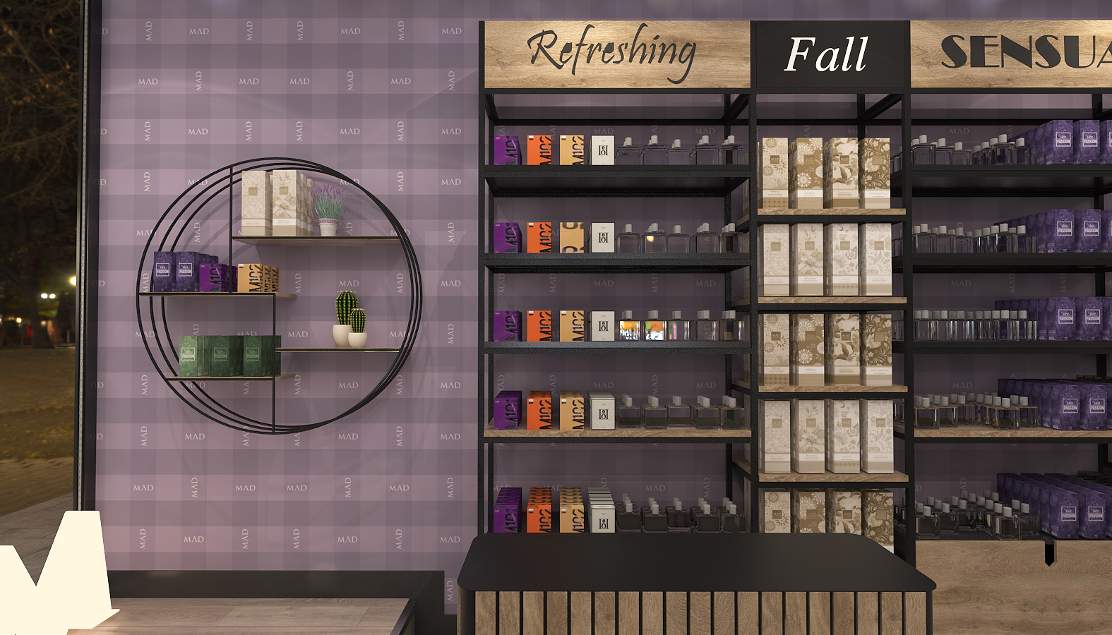 Mad Parfumer Store, Retail