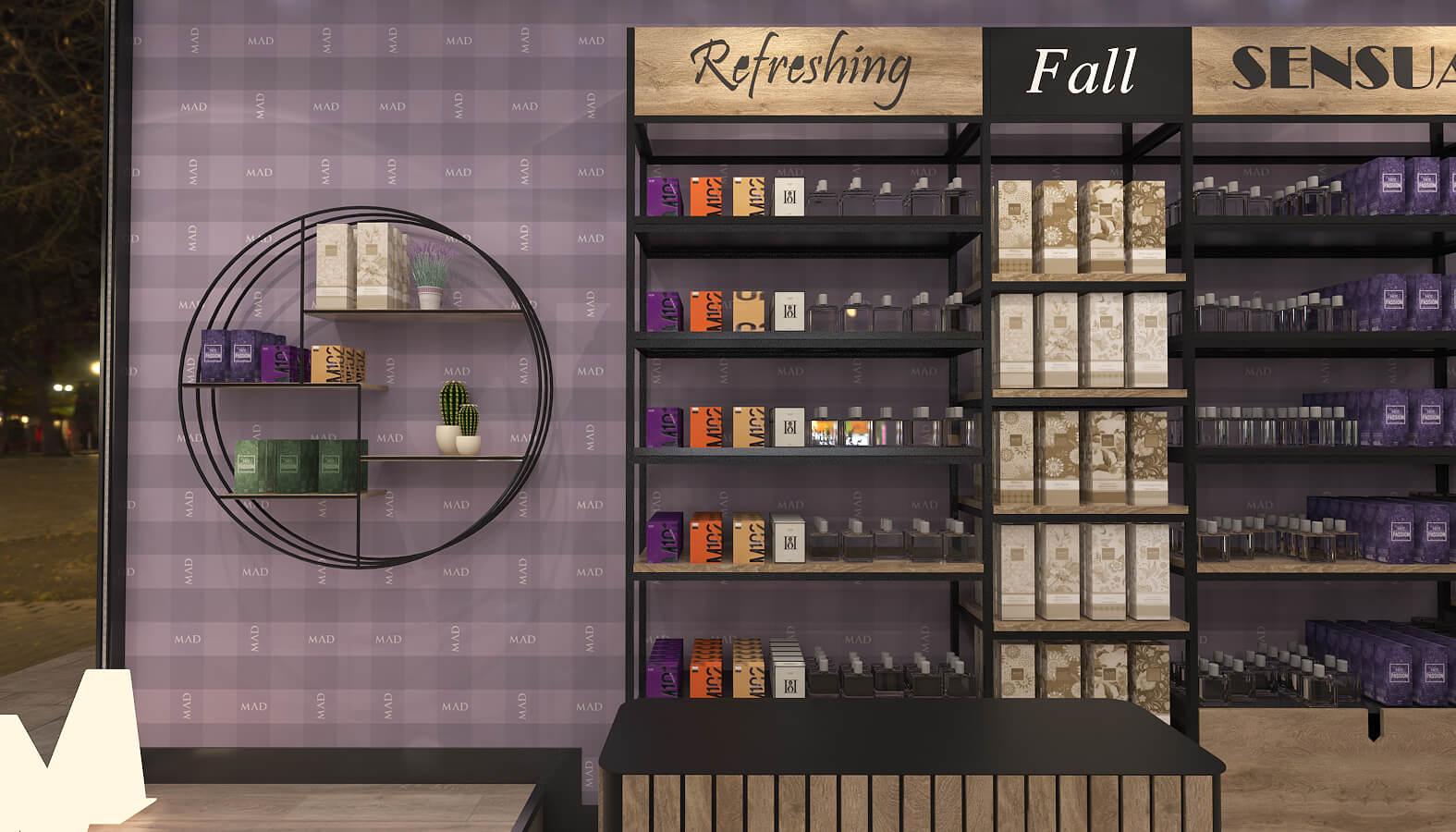 Bostanlı 3683 Mad Parfumer Store Retail