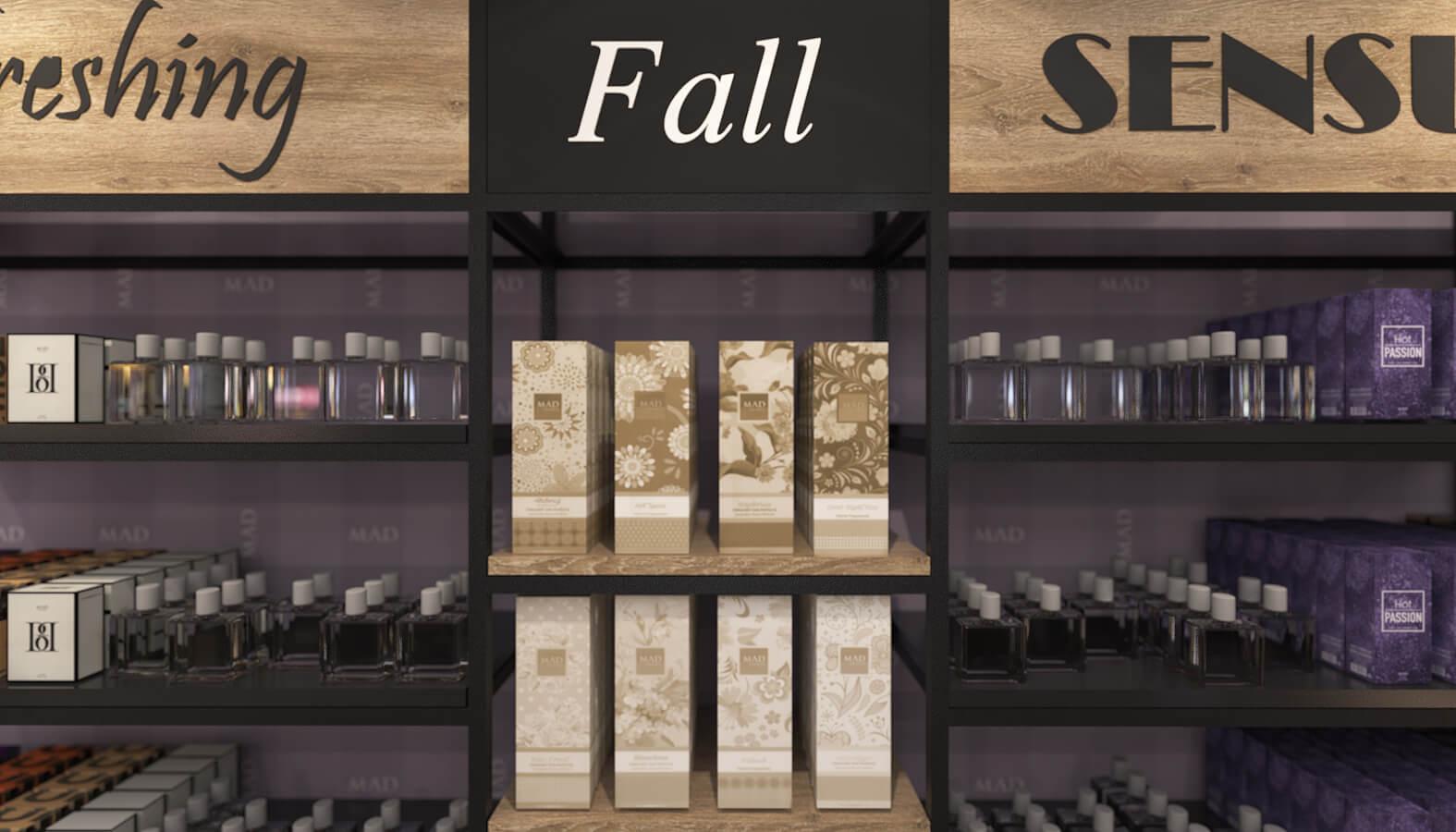 shop design 3684 Mad Parfumer Store Retail