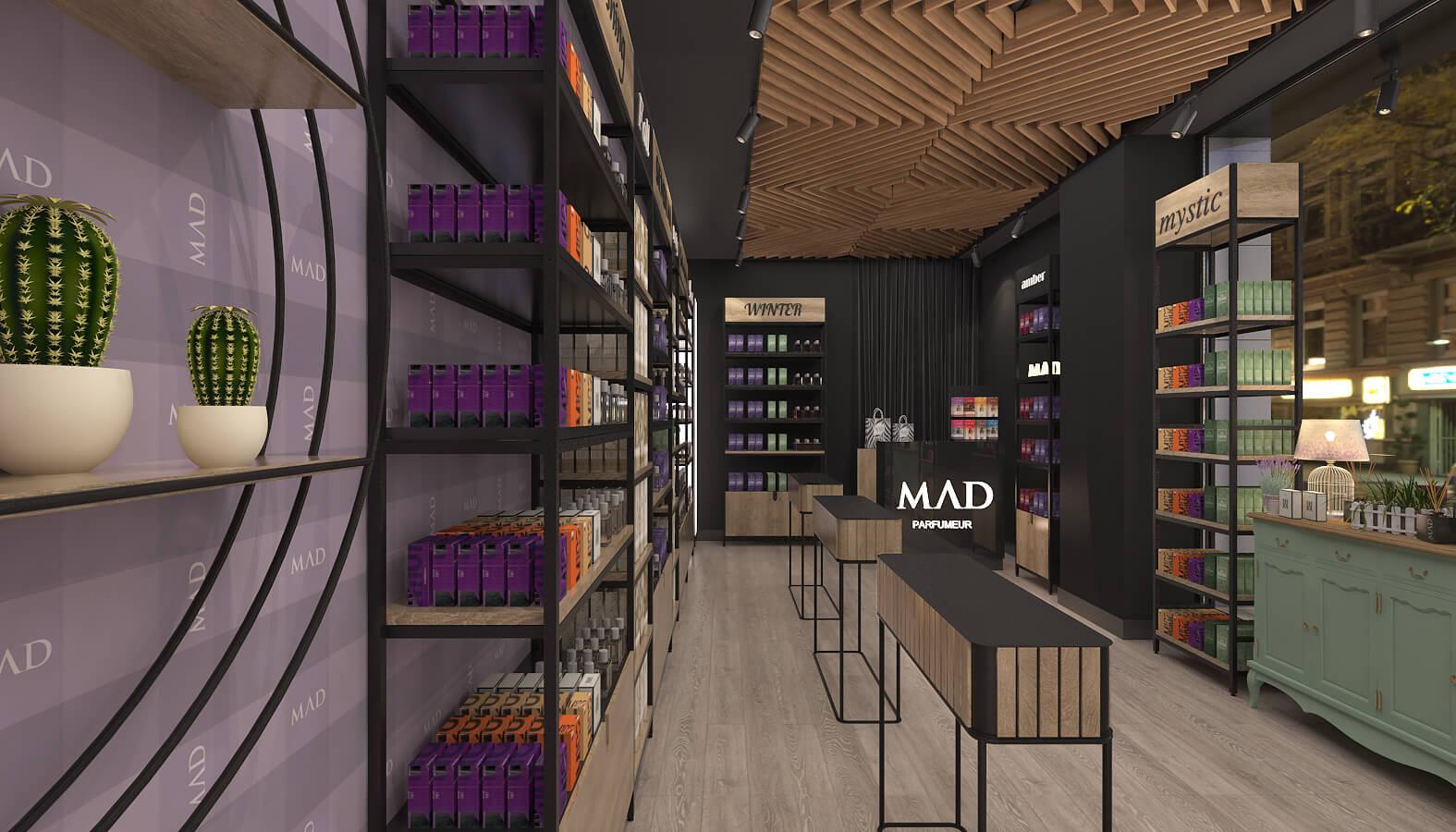3686 Mad Parfumer Store Retail