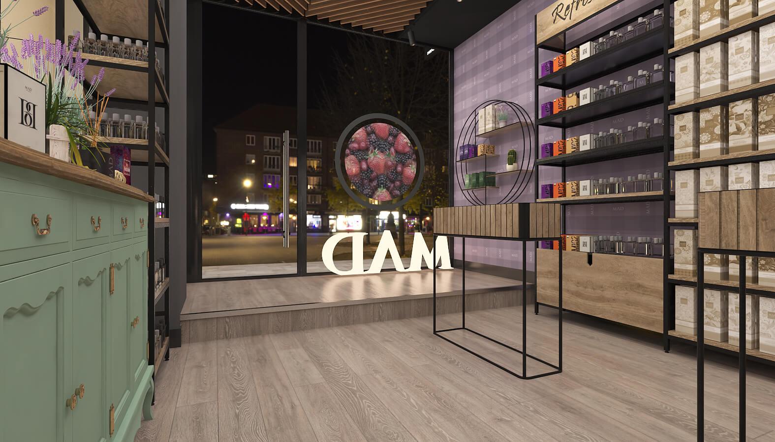 3688 Mad Parfumer Store Retail