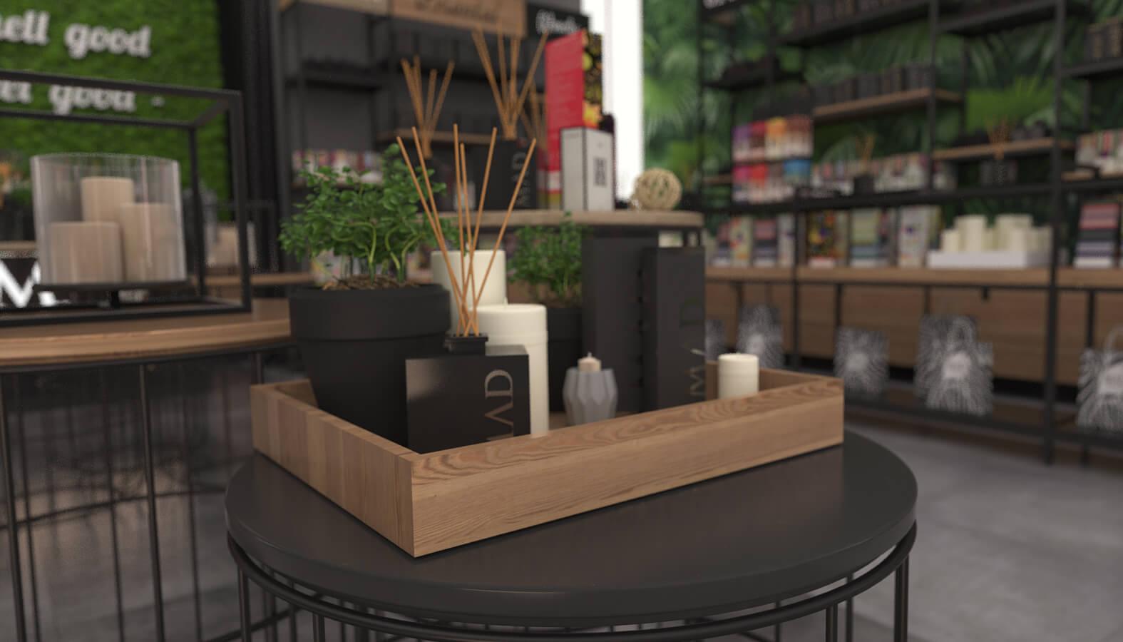 shop design 3690 Mad Parfumer Store Retail
