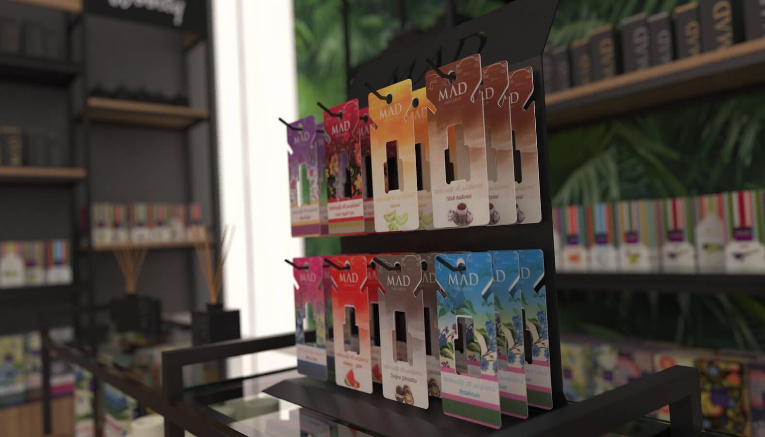 3692 Mad Parfumer Store Retail