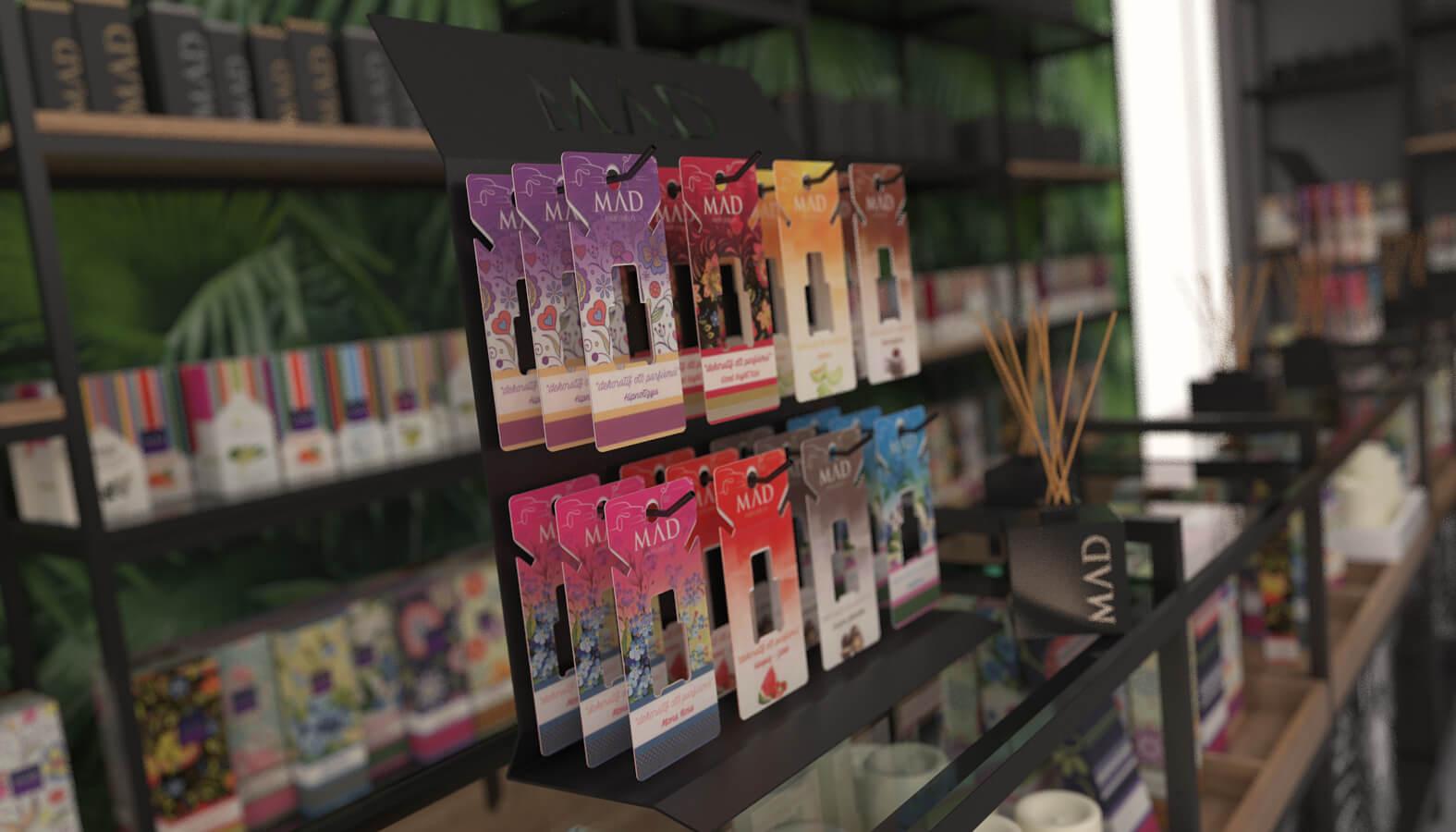 retail design 3695 Mad Parfumer Store Retail