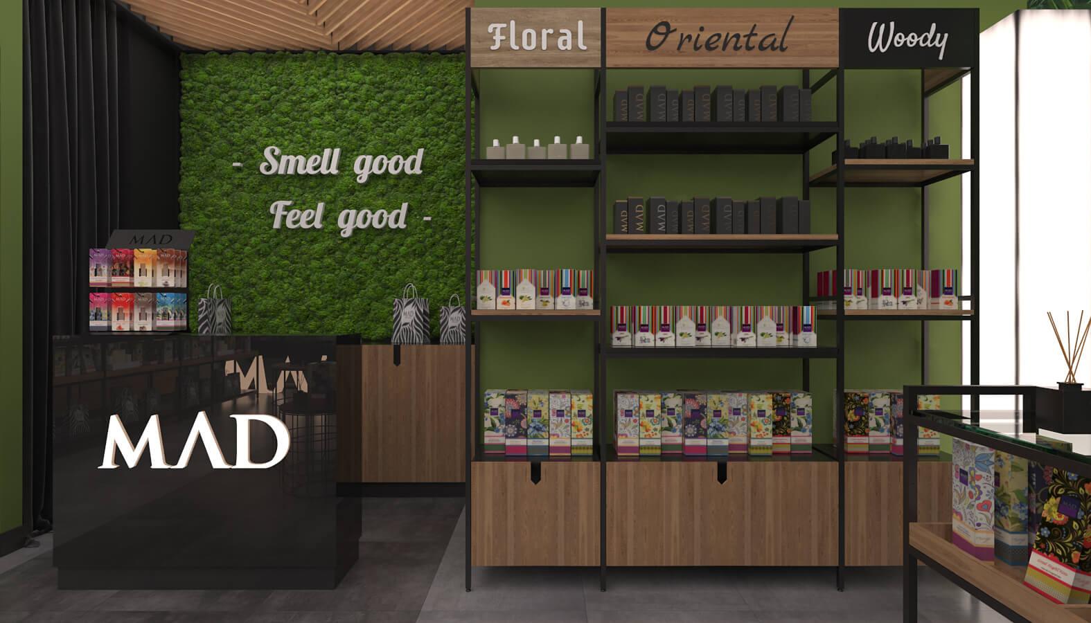 Ankamall 3703 Mad Parfumer Store Retail