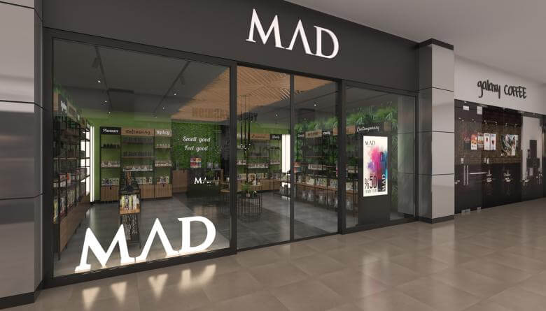 retail design 3705 Mad Parfumer Store Retail