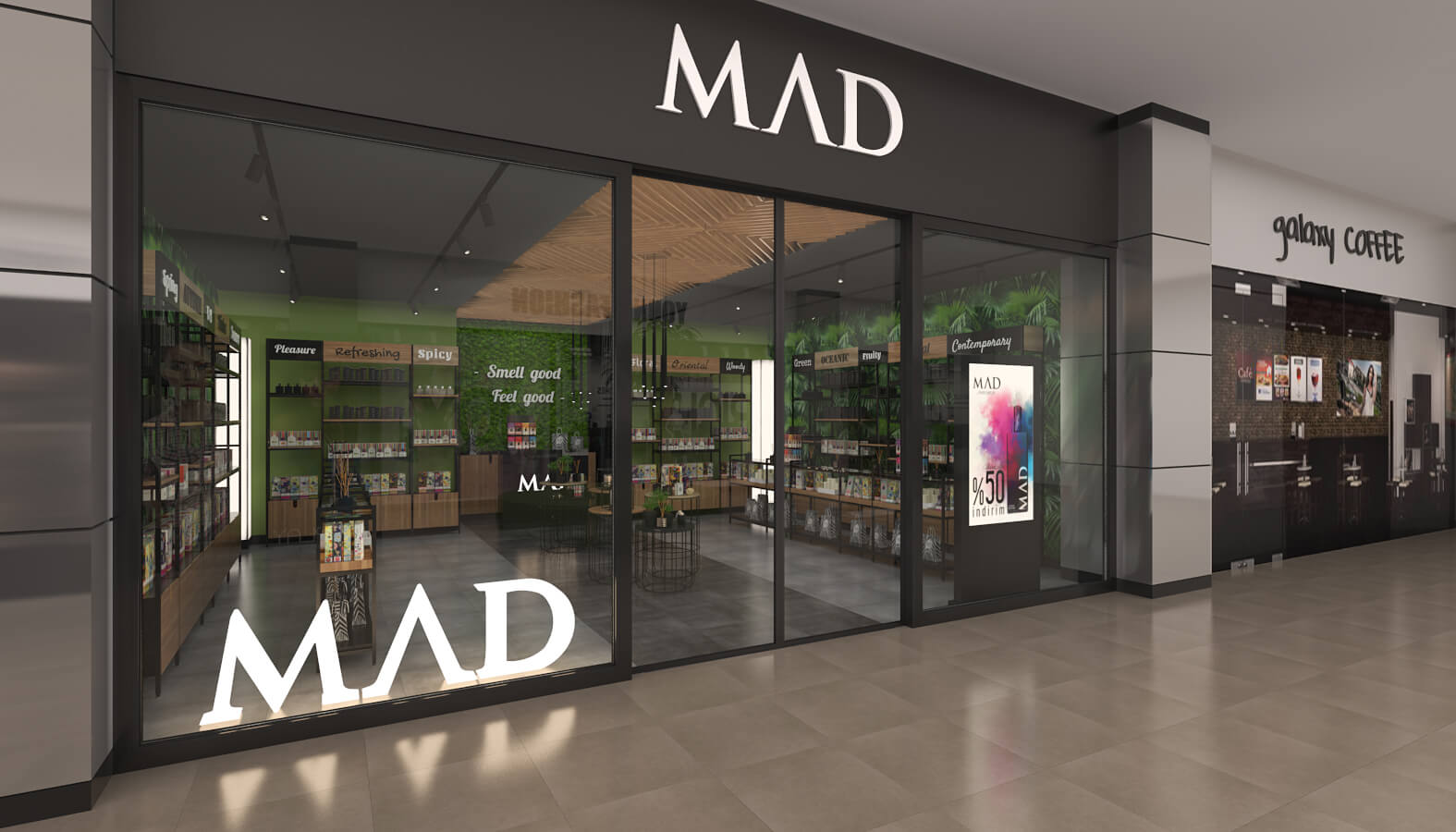shop design 3705 Mad Parfumer Store Retail