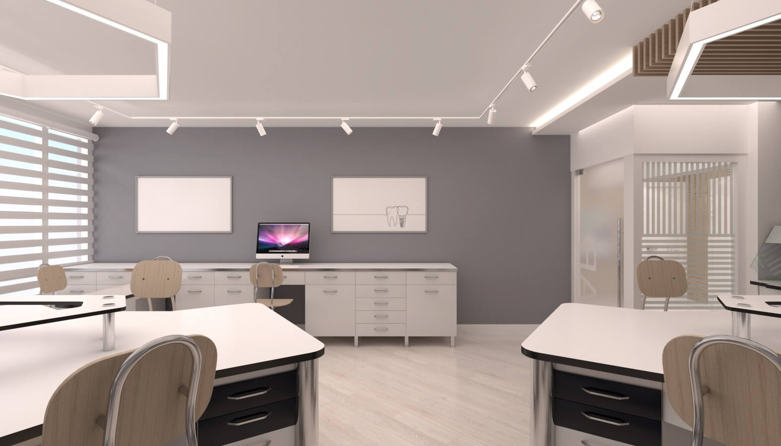 office design 3720 Crystal Dental Lab Offices