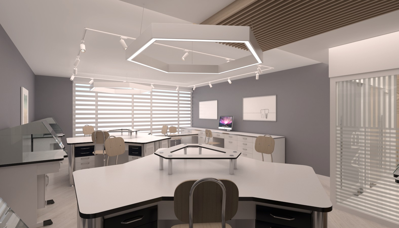 Crystal Dental Lab, Offices